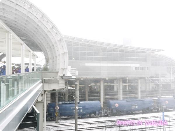 2014年2月8日さいたま新都心駅