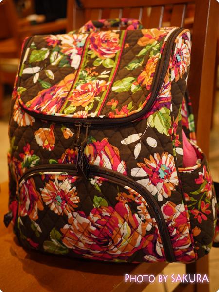 Vera Bradley(ヴェラ・ブラッドリー) Double Zip Backpack(ダブルジップ・バックパック) English Rose