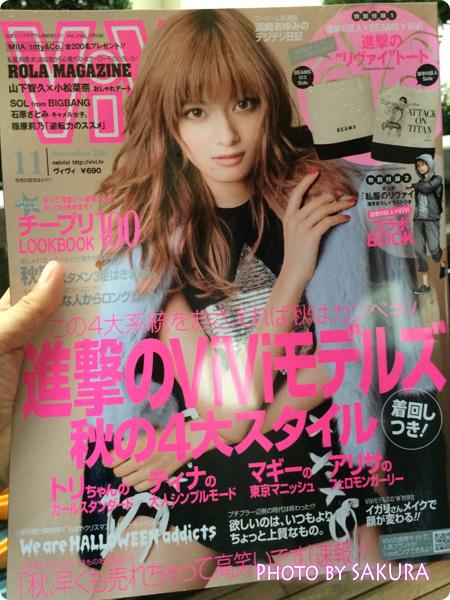 ViVi (ヴィヴィ) 2014年 11月号 [雑誌] 表紙はローラ
