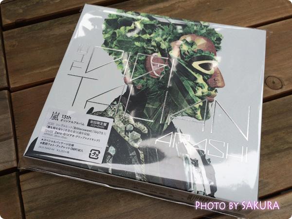 嵐『THE DIGITALIAN』初回限定盤 スペシャル・パッケージ仕様