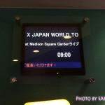 X JAPANマディソン・スクエア・ガーデンライブビューイングに行ってきました