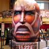 劇場版「進撃の巨人」前編~紅蓮の弓矢~ 新宿バルト9 超大型巨人のバルーン