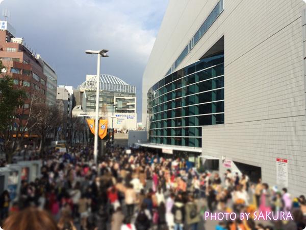 キスマイ新春イベント2015『Kis-My-福袋』横浜アリーナ会場 混雑の様子