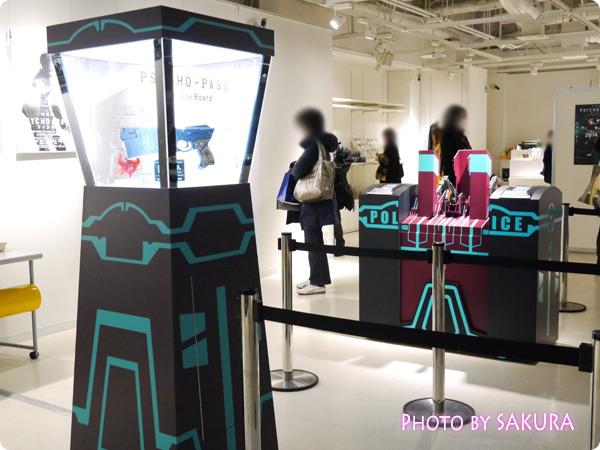 サイコパス×タワーレコード渋谷店 特別展示『GINNOCENT WORLD―宜野座伸元の世界―』 ドミネーター展示