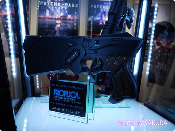 サイコパス×タワーレコード渋谷店 特別展示『GINNOCENT WORLD―宜野座伸元の世界―』 ドミネーター展示3