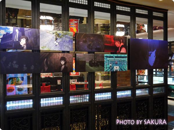 新宿ルミネエスト8F『PSYCHO-PASS LOUNGE(サイコパスラウンジ)』外側 場面カット2