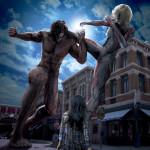 【USJクールジャパン】等身大巨人にクロノイド!進撃の巨人・ザ・リアルをチェック!