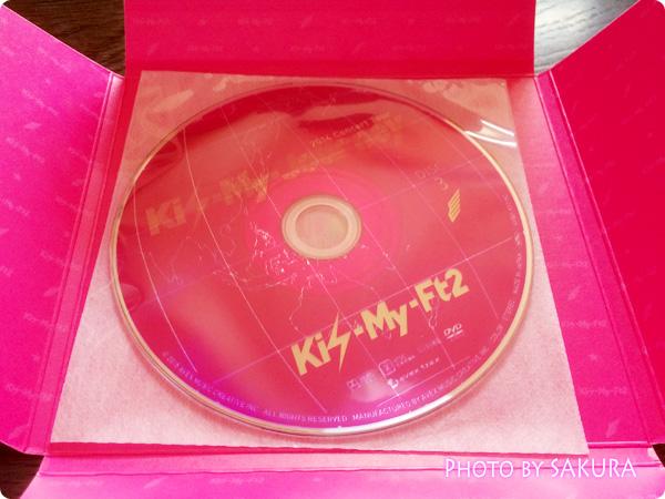 Kis-My-Ft2「2014ConcertTour Kis-My-Journey(初回生産限定盤)」ディスク3盤面