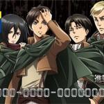 【進撃の巨人×Tカード】調査兵団デザインで8月7日から発行開始、グッズ先行販売も!