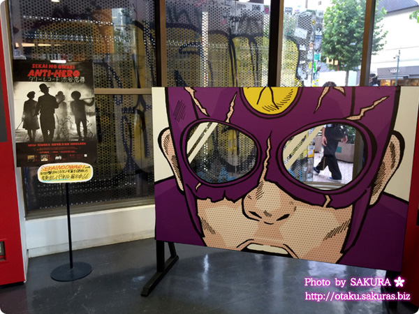 SEKAI NO OWARI「ANTI-HERO(アンタイヒーロー)」タワーレコード渋谷店パネル