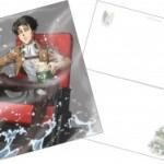 アニメ劇場版進撃の巨人後編4D版&通常版追加公開館の入場者特典画像公開