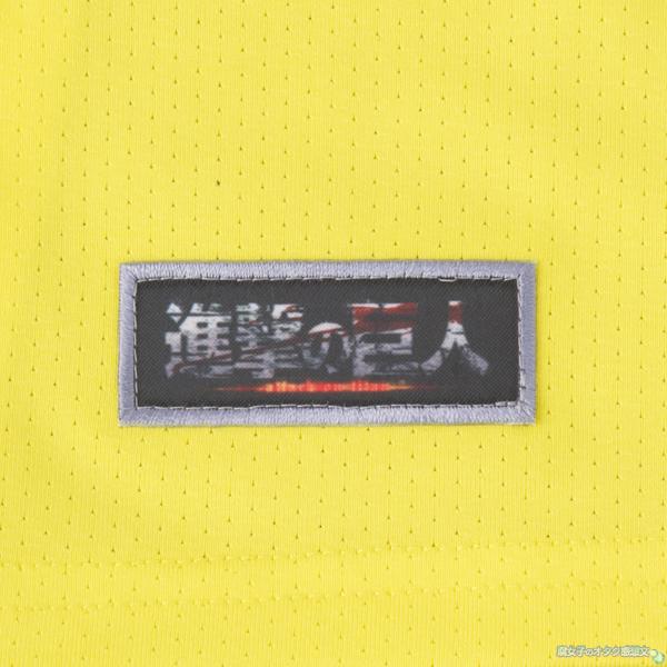 アディダス×進撃の巨人コラボ トレーニングウェア『進撃のTECH FIT』エレンver. 進撃の巨人ロゴアップ