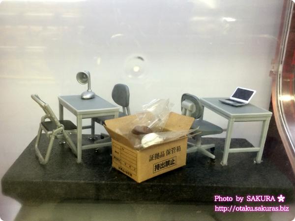 JR池袋南口改札前「ガチャピクニック」取調室 展示