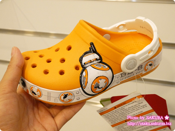 crocs クロックス crocband star wars BB-8 clog kids クロックバンド スター・ウォーズ BB-8 クロッグ キッズ