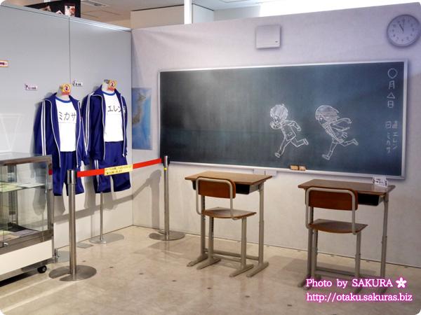 進撃の巨人×進撃!巨人中学校オンリーショップ in アニメイト池袋本店 進撃!巨人中学校の展示全体