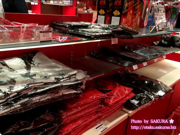 X JAPAN日本ツアーファイナル名古屋日本ガイシホールライブビューイング MOVIXさいたま X JAPANグッズ売り場