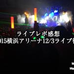 【ライブレポ感想】X JAPAN2015横浜アリーナ12/3ライブに行ってきた!3