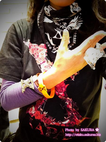 X JAPAN WORLD TOUR 2015-2016 IN JAPAN 横浜アリーナ 12/3  会場限定Tシャツ着画