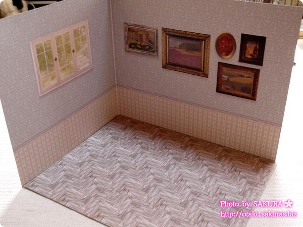 キャンドゥ ウッドクラフト用背景ボード リビング 外壁/板壁 パターン1