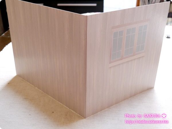 キャンドゥ ウッドクラフト用背景ボード リビング 外壁/板壁 外壁ボード