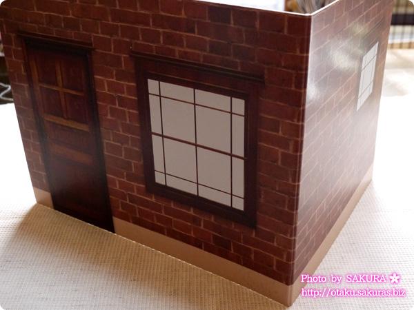 キャンドゥ ウッドクラフト用背景ボード リビング外壁/煉瓦 外壁ボード