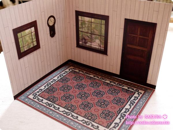 キャンドゥ ウッドクラフト用背景ボード リビング外壁/煉瓦 パターン1