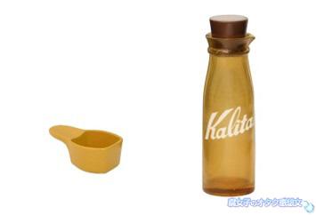 niko and...ニコアンドとKalitaカリタのコラボのガチャガチャ コーヒーストレージボトルパステルメジャーカップブラウン