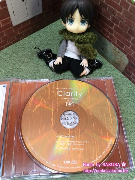 アニメ「進撃!巨人中学校」キャラソン第3弾No Name『Clarity』 盤面デザイン