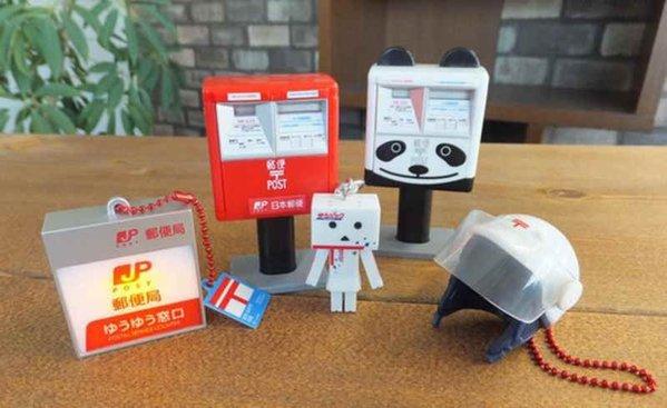 郵便局ガチャコレクションでポストやゆうパックにダンボーミニチュア全5種類2月2日登場!