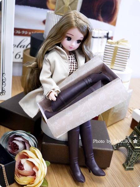 タカラトミー 大人向けリカちゃん 第2弾 リカ スタイリッシュドールコレクション 「カプチーノワンピース スタイル」またブーツ買っちゃったごっこ