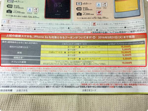 J:COMからキャッシュバッククーポン詳細
