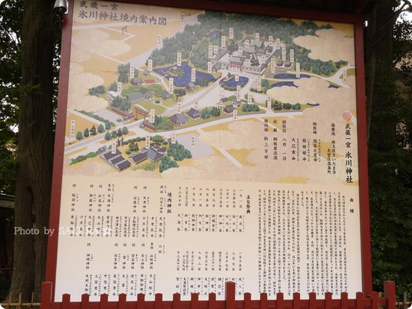 大宮氷川神社マップ