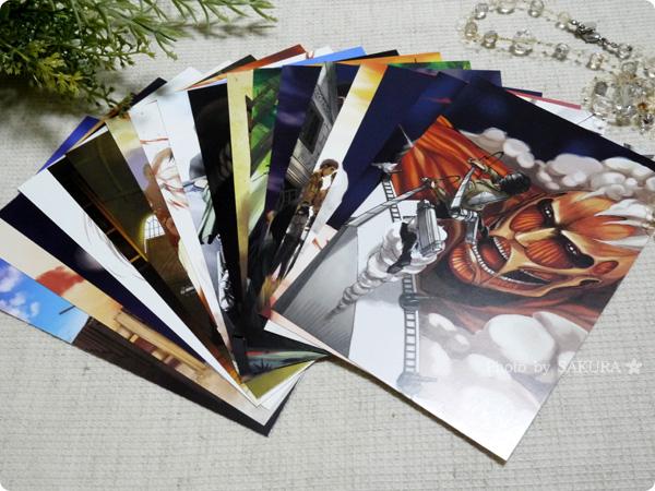 『ポストカード52枚&クリアアルバム付き』 ポストカード52枚の中のコミックス表紙