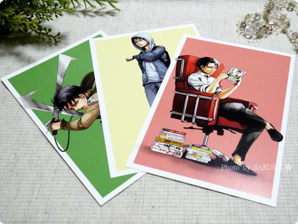 『ポストカード52枚&クリアアルバム付き』 ポストカード52枚の中から雑誌コラボ兵長