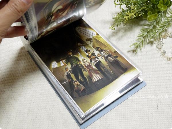 『ポストカード52枚&クリアアルバム付き』 ポストカードをクリアアルバムに収納してみた