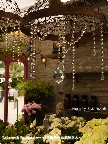 第18回国際バラとガーデニングショウ  Laurent.B Bouquetier~パリ街角のお花屋さん~ その2