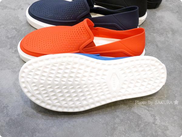 crocs クロックス citilane röka slip-on men(シティレーン ロカ スリップオン メン)  靴底