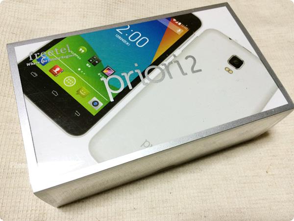 Freetel Priori 2 3G(プライオリ2 3G) 外箱