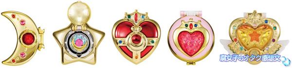 「美少女戦士セーラームーン 変身コンパクトミラー2」8月1日(月)より先行販売予定 ラインナップ