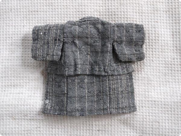 そらがおかさまの型紙を元に作ったオビツ11浴衣 全体