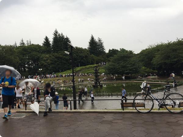 【ポケモンGO】世田谷公園は噴水周辺にミニリュウ出現?
