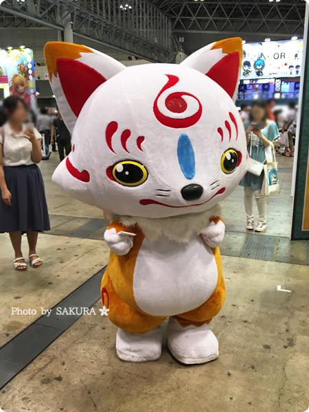 ワンフェス2016夏 刀剣乱舞 こんのすけ ゆるキャラグランプリ出場