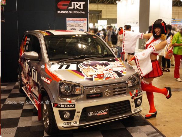 ワンフェス2016夏  CUSCO Junior Rally Team 痛車