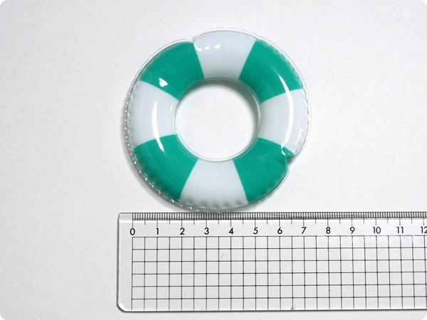 claire's(クレアーズ) アヒルの浮き輪のキーホルダー 浮き輪のサイズ