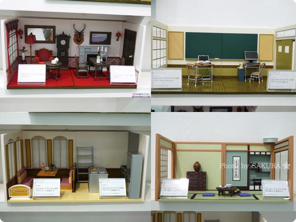 グッドスマイルカンパニー15周年記念展示会 ねんどろいど プレイセットの展示