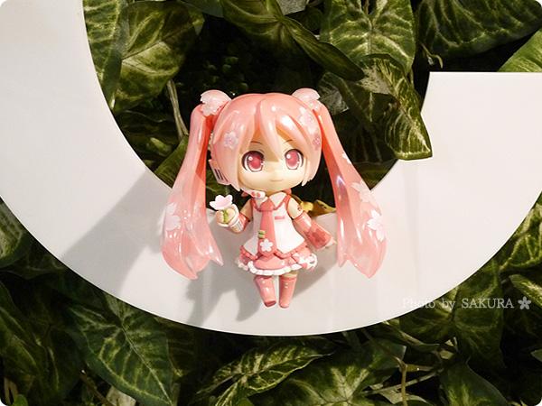 グッドスマイルカンパニー15周年記念展示会 ねんどろいど 桜ミク Bloomed in Japan 入口のCにいた