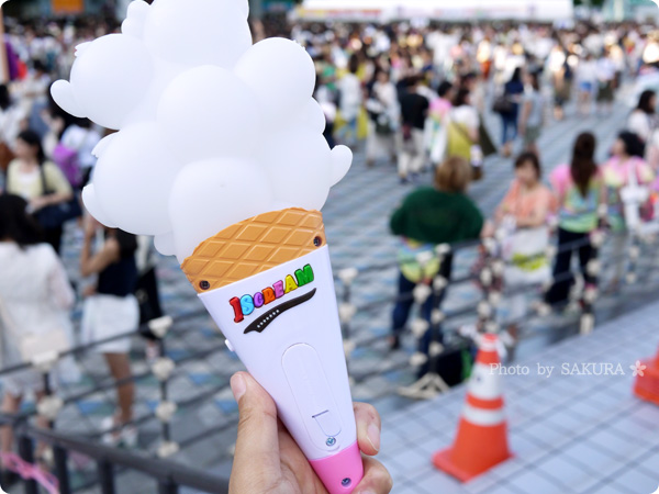キスマイ東京ドームツアー「Kis-My-Ft2 CONCERT TOUR 2016 I SCREAM」ペンライト購入