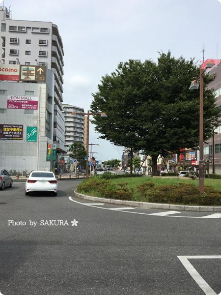 「春日部ポケモンさくらまつり」春日部駅東口駅前付近のリアル写真