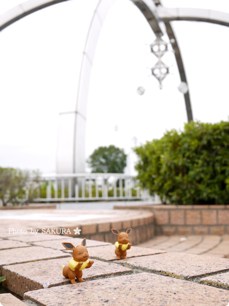埼玉県春日部駅東口 古利根川公園橋はポケストップとジムがある