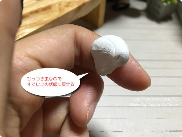 オビツろいど(オビツ11)中秋の名月のお月見 ひっつき虫で月見団子を作る